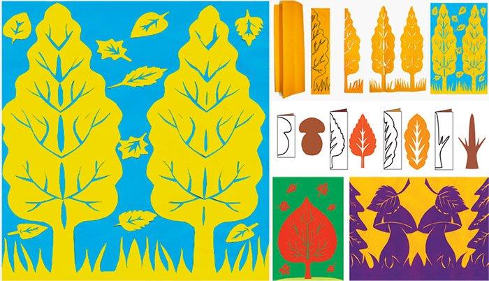 Яскраві листівки-витинанки для дітей, фото 1