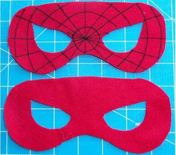 Як зробити маску Людини-павука, фото 2