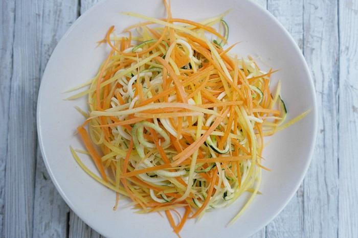 Кабачково-морквяний салат, рецепт