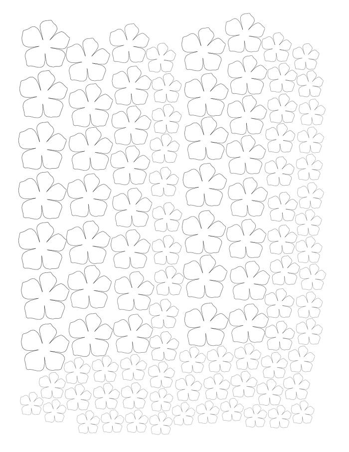 Аппликация из бумаги для детей шаблоны - фото 3