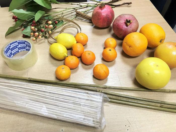 Як зробити фруктовий букет