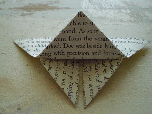 Орігамі метелик крок 10