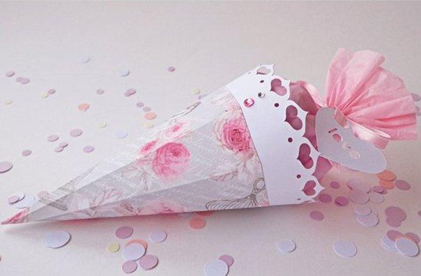 Красивая подарочная коробка своими руками — схемы бонбоньерок, фото 9