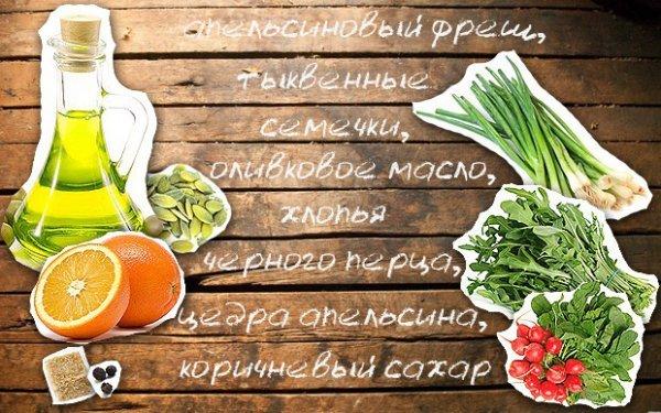 Итальянская салатная заправка, рецепт