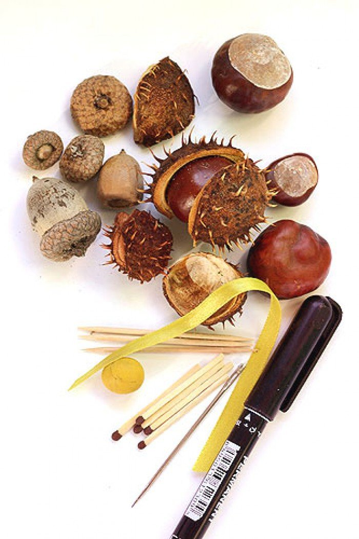 Поделки из природных материалов, фото 1