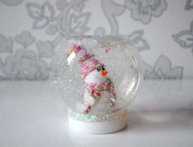 Снежный шар своими руками, фото 17