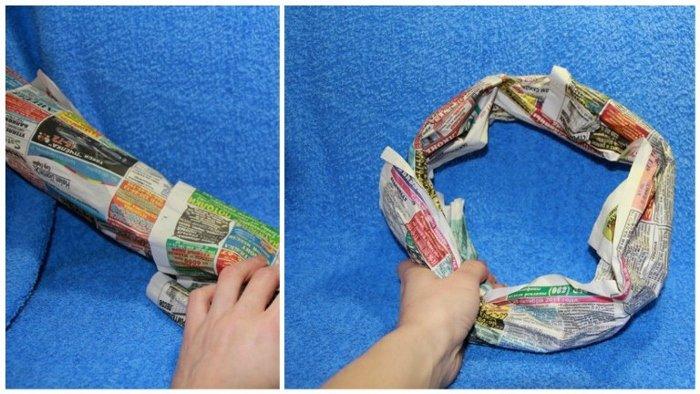 Як зробити різдвяний вінок своїми руками, фото 4