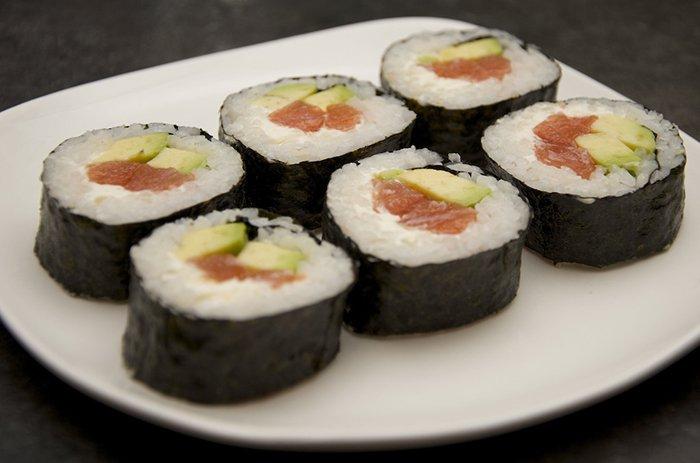 Домашние суши - инструкция, шаг 10