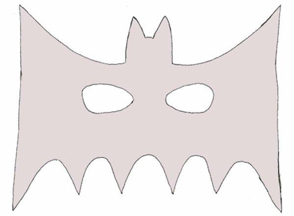 Маска Бэтмена своими руками, фото 1