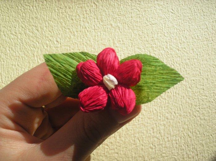 Букет квітів з гофрованого паперу своїми руками - фото 14