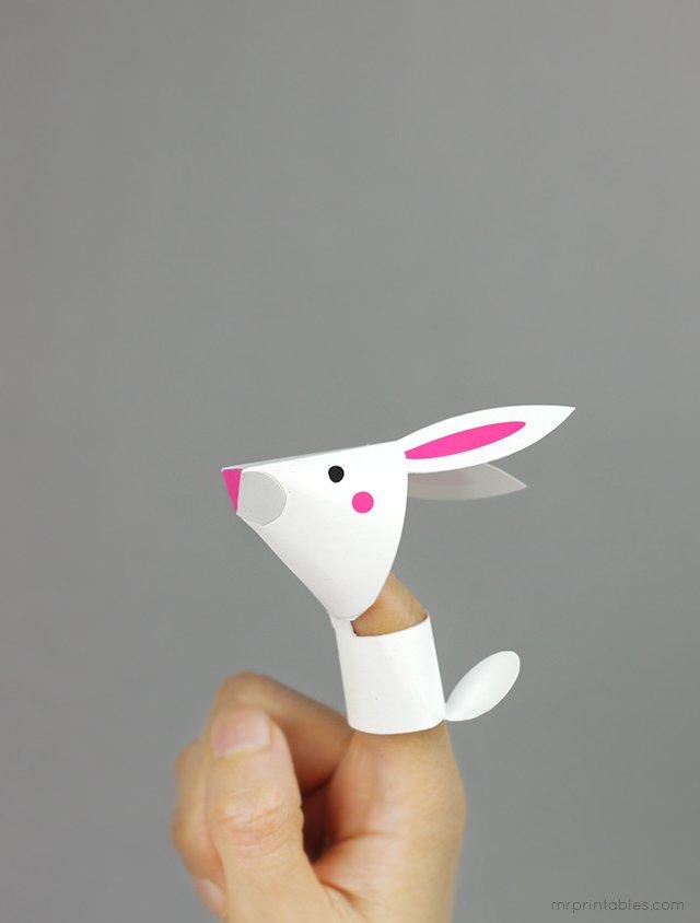 Как сделать пальчиковый театр из бумаги, фото 8