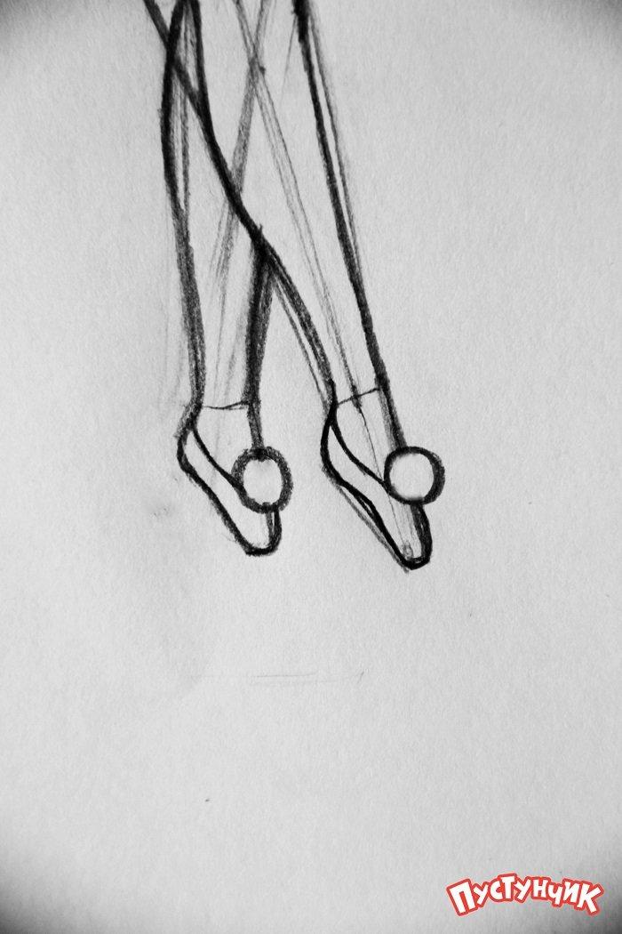 Как нарисовать фею Динь-Динь поэтапно - фото 18