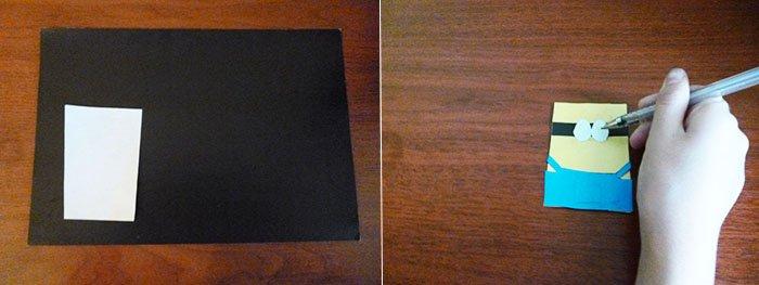 Як зробити міньйона своїми руками з паперу, фото 5
