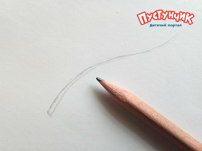 как нарисовать калину карандашом