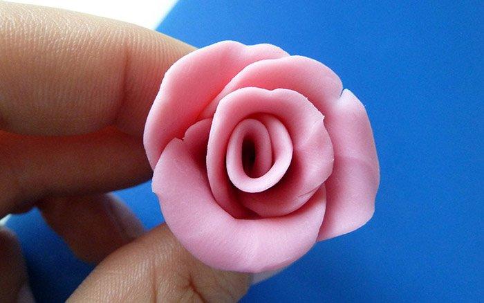 Ліпимо квіти з пластиліну, фото 10