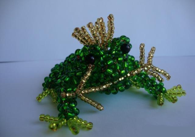 Лилии из бисера, схемы плетения - фото 14