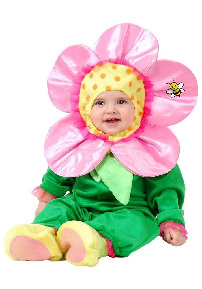 Весенний костюм для девочки. Костюм-цветочек для малышки
