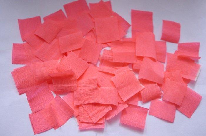 Поделки на День Святого Валентина, гофрированная бумага