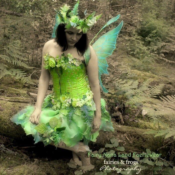 Весенний костюм в виде феи
