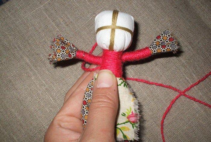 Лялька мотанка своїми руками фото 8