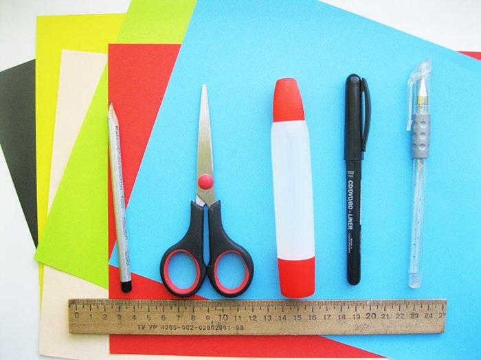 Новорічні витинанки - шаблони витинанок для дітей, фото 1