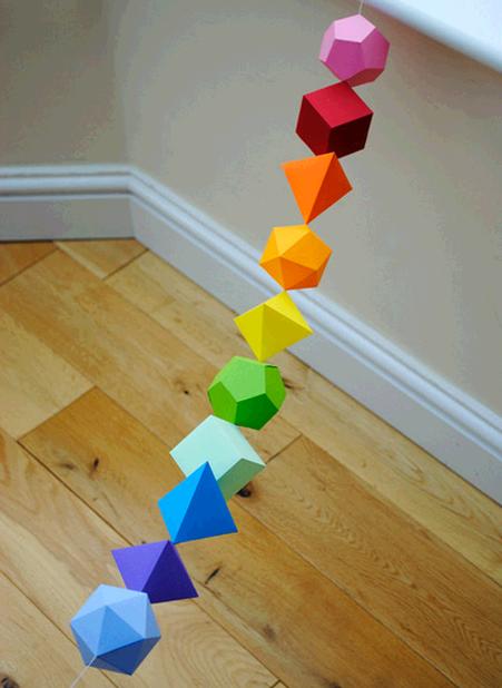 мне эти красочные оригами