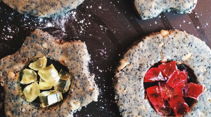 Печиво з пісочного тіста з мармеладом