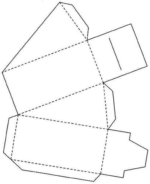 Красивая подарочная коробка своими руками — схемы бонбоньерок, фото 11