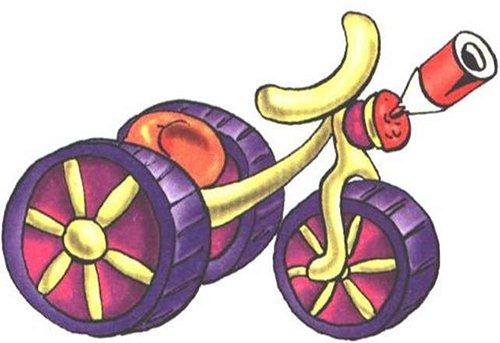 Велосипед из пластилина - мастер-класс, фото 6