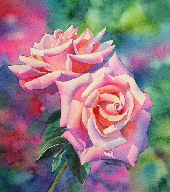 Как нарисовать розу шаг за шагом – схема, фото 23