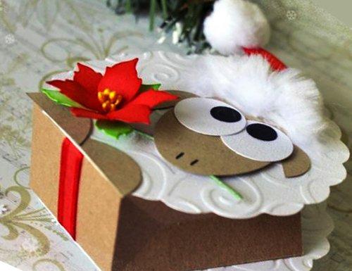 Коробка «Овечка» своими руками. Фото 8