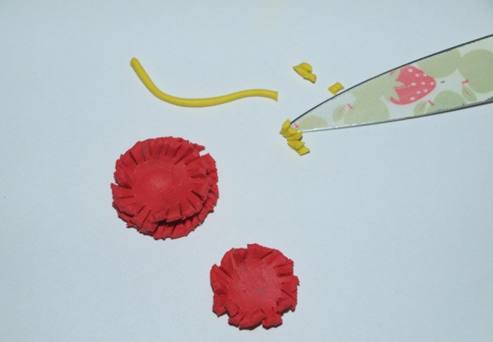 Лепим цветы из пластилина, фото 20