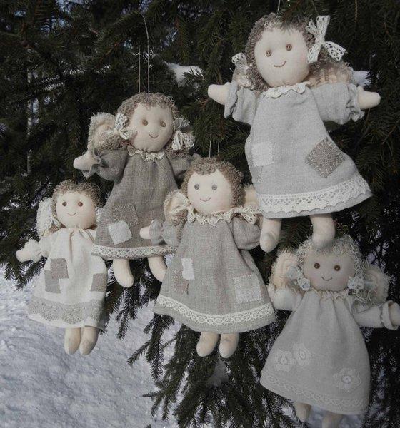 Різдвяне янголятко своїми руками