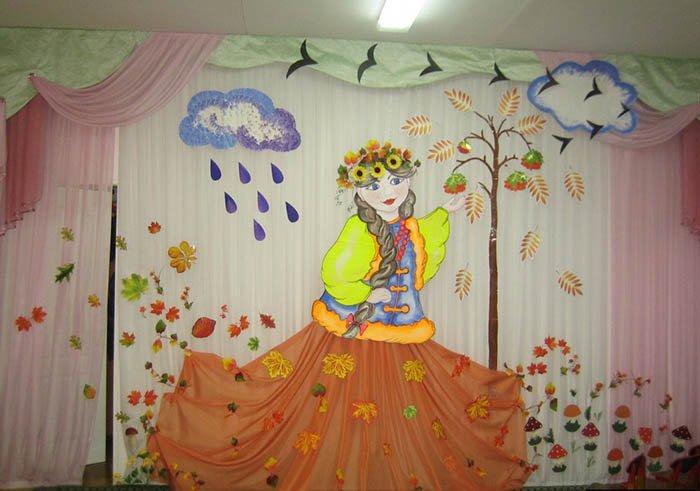 Идеи осеннего оформления детского сада и школы