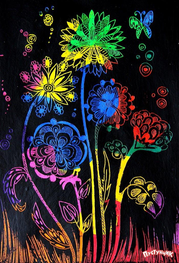 Как сделать зимний цветок фото 878