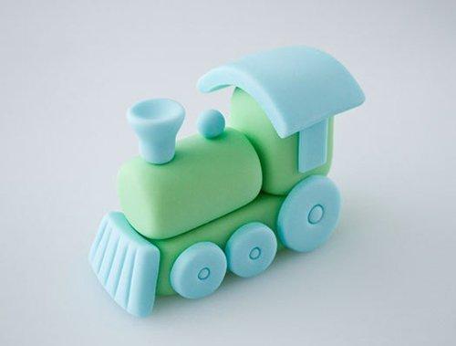 Поезд из пластилина - мастер-класс, фото 1