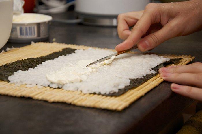 Делаем суши - инструкция, шаг 6