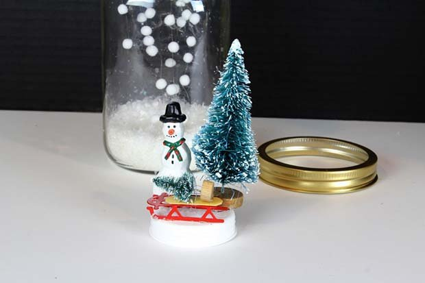Снежный шар своими руками, фото 18