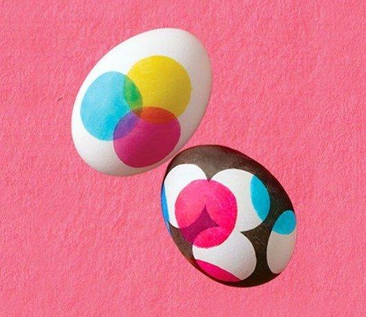 Пасхальные яйца CMYK — Дизайнерские