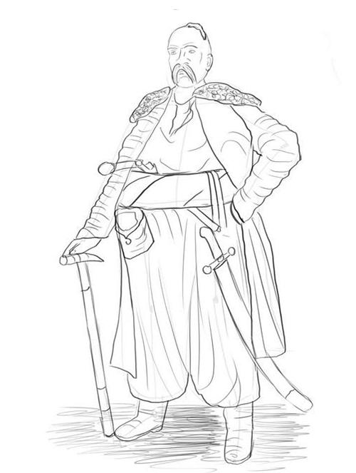 Картинка меч рисунок
