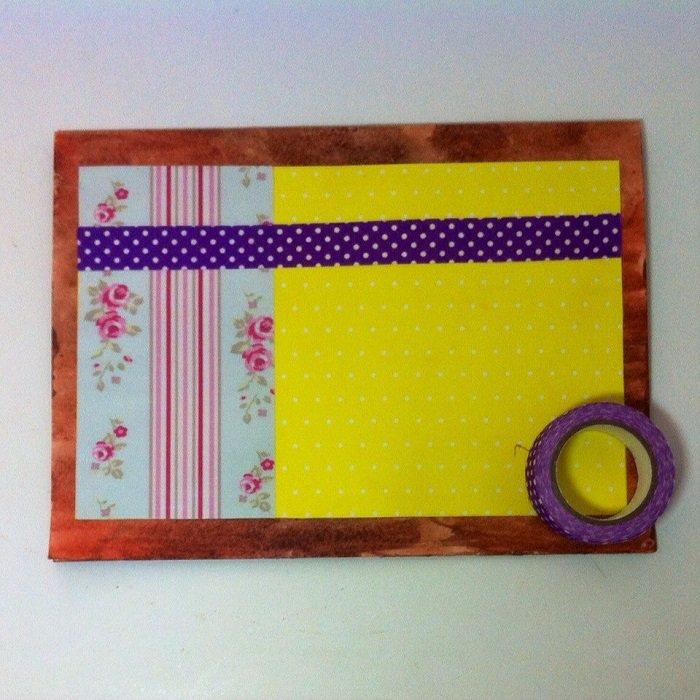 Скрапбукінг, майстер клас: листівка з днем народження своїми руками. Фото 7