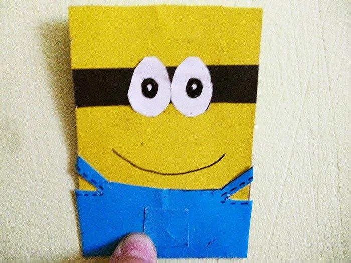 Як зробити міньйона своїми руками з паперу, фото 6