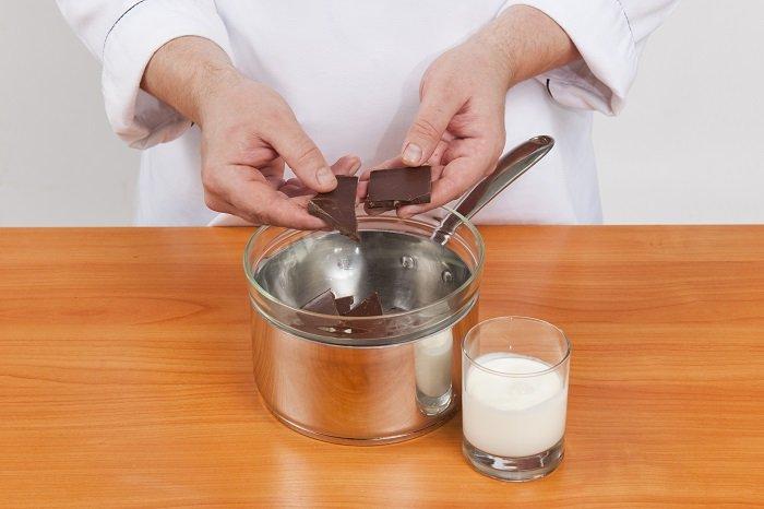 Украшение пасхи шоколадом фото 2