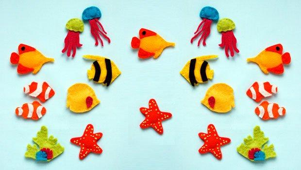 Детские поделки из фетра своими руками - рыбки из фетра, фото 11