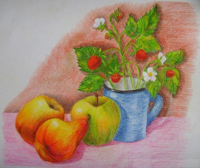Как нарисовать натюрморт карандашом поэтапно, фото 15