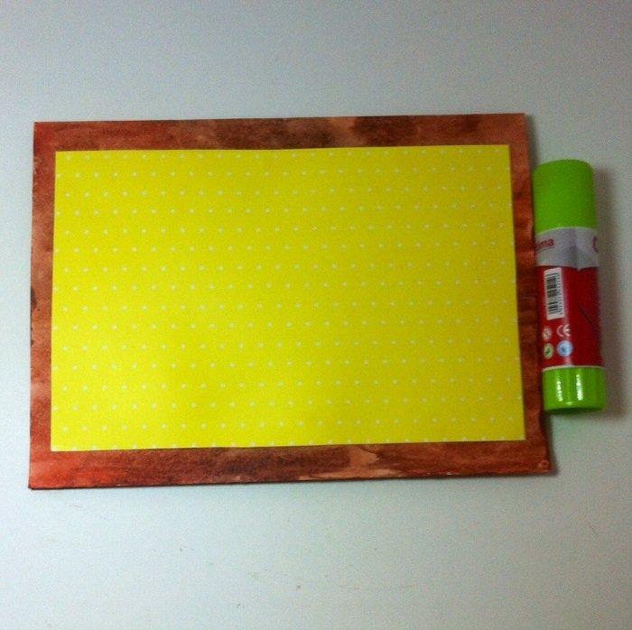 Скрапбукінг, майстер клас: листівка з днем народження своїми руками. Фото 5