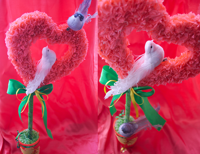 Изделие на День Святого Валентина готово