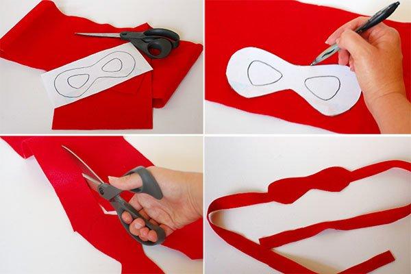 Как сделать маску черепашки-ниндзя, фото 9