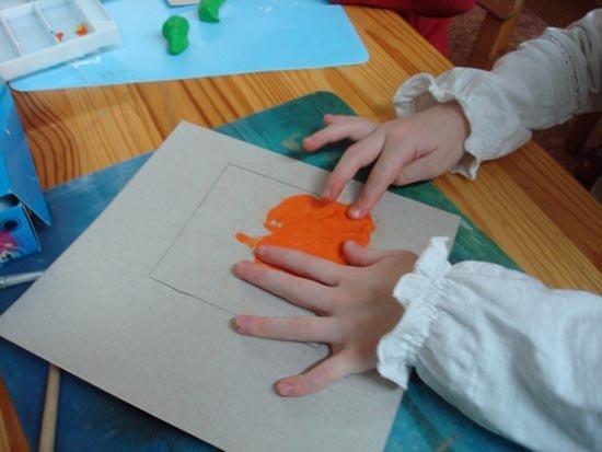 Ліплення з пластиліну в дитячому садку - будиночок, фото 4