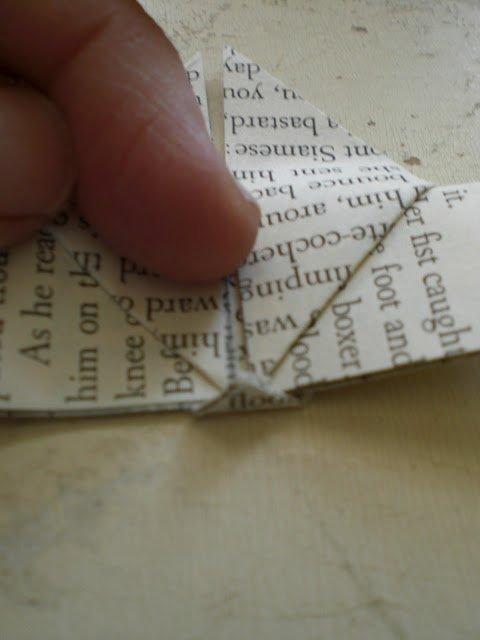 Оригами бабочка шаг 12